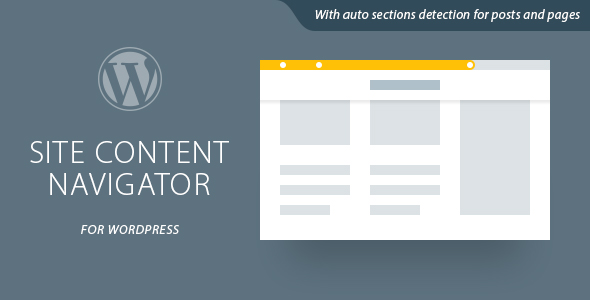 Site Content Navigator For WordPress
