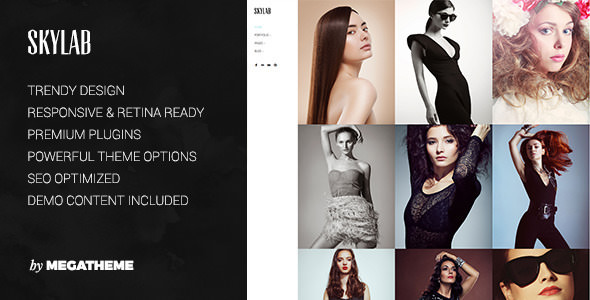 Skylab 3.0.1 - Portfolio / Photography WordPress Theme
