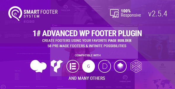 Smart Footer System 2.5.4 - Footer Plugin for WordPress