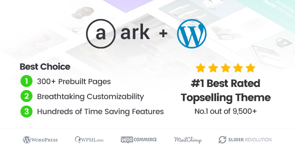 The Ark 1.40.0 - Multi-Purpose WordPress Theme