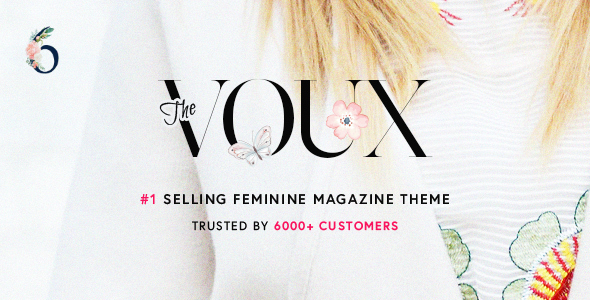 The Voux 6.2.3 - A Comprehensive Magazine Theme