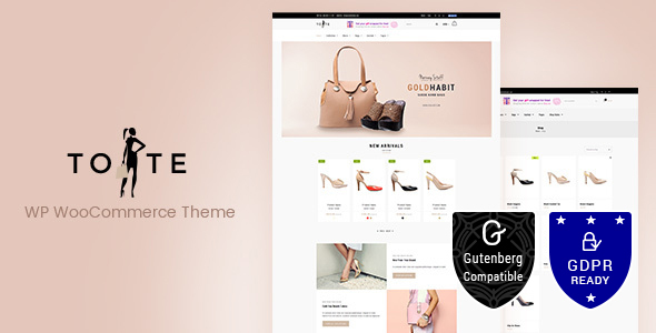Tote 1.3 - WordPress WooCommerce Theme