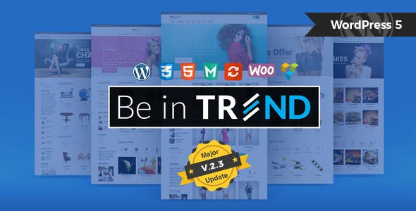 Trend 2.4 - Multipurpose Modern Shop WooCommerce Theme