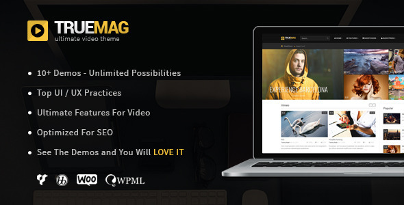True Mag 4.2.17 - WordPress Theme for Video and Magazine