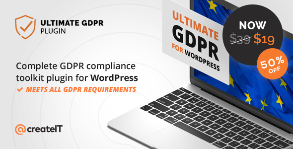 Ultimate GDPR 1.6.9 - Compliance Toolkit WordPress Plugin