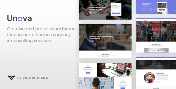 Unova 1.5 - Consulting Business WordPress Theme