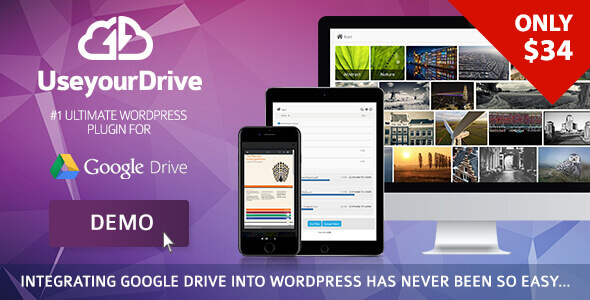 Use-your-Drive 1.11.15 - Google Drive plugin for WordPress