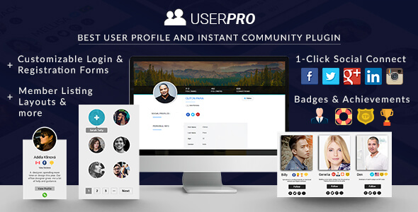 UserPro 4.9.38 Nulled - Community and User Profile WordPress Plugin