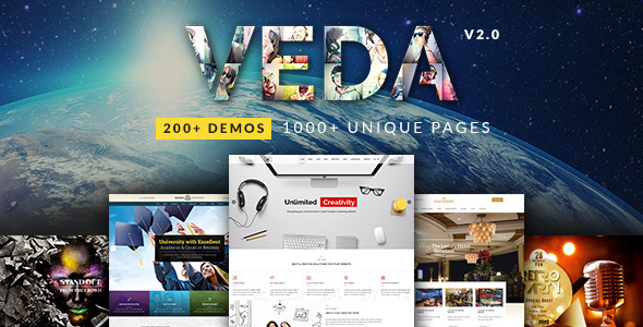 Veda 2.6 - Multi-Purpose WordPress Theme