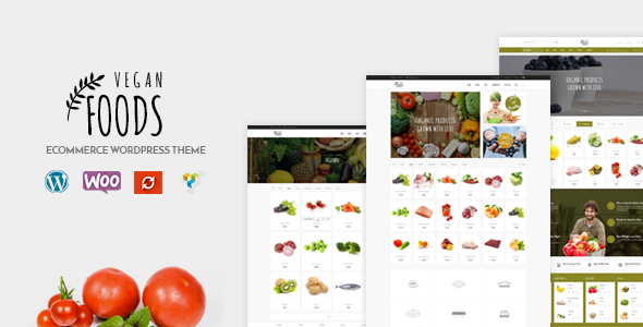 Vegan Food 5.2.3 - Organic Store, Farm Responsive Woocommerce WordPress Theme