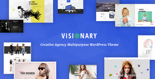Visionary 1.4.3 - Creative Agency Multipurpose WordPress Theme