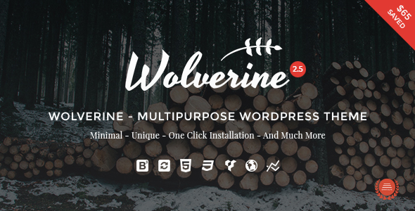Wolverine Responsive Multi-Purpose Theme