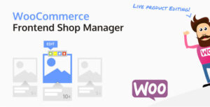 WooCommerce Frontend Shop Manager 4.1.3