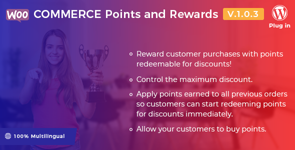 WooCommerce Points and Rewards WordPress plugin