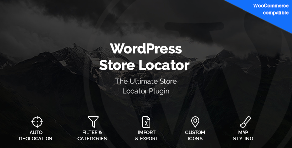 WordPress Store Locator 1.7.23 - WordPress Plugin