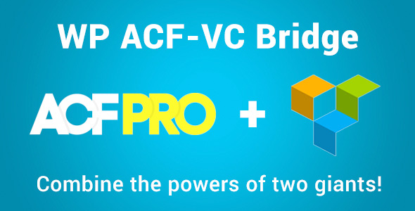 WP ACF-VC Bridge Integrates Advanced Custom Fields
