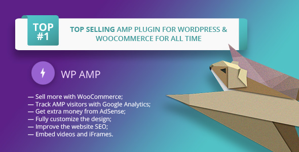 WP AMP 9.3.11 Nulled - Accelerated Mobile Pages for WordPress