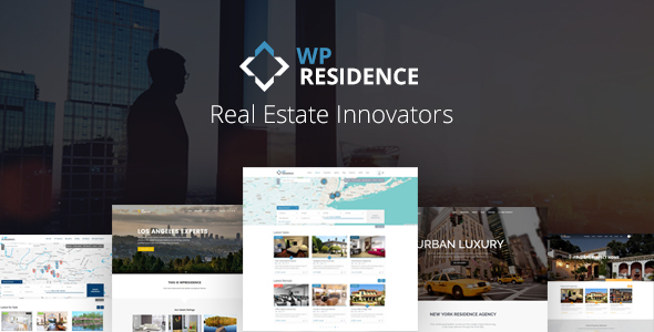WP Residence 3.4.1 Nulled - Real Estate WordPress Theme