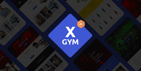 X-Gym Fitness WordPress Theme