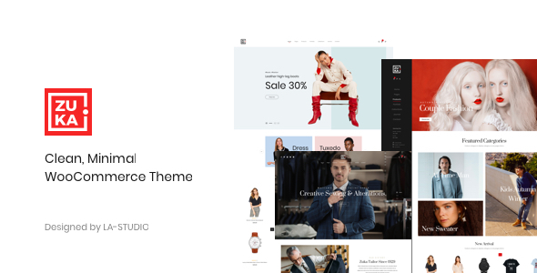 Zuka 1.0.3 - Clean, Minimal WooCommerce Theme