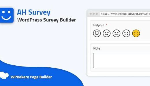 AH Survey-Survey-Builder-With-Multiple-Questions-Type-Nulled-download