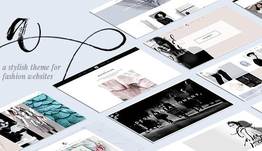 Audrey-Nulled-Charming-Fashion-Theme-Download