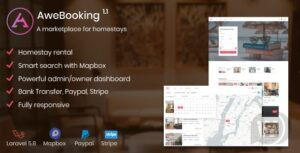AweBooking-a-marketplace-for-families-Nulled-download