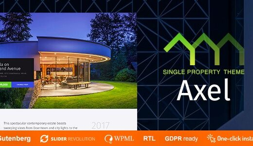 Axel-Single-Property-Real-Estate-Theme-Nulled-Download