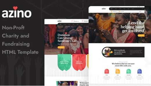 Azino-Nonprofit-Charity-HTML-Template-Nulled-download