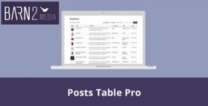 Barn2-Media-Posts-Table-Pro -Nulled-Download