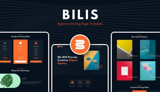 Bilis-Agency-Landing-Page-Template-Nulled-Download