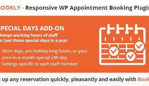 Bookly-Special-Days-Add-on-Nulled-Download