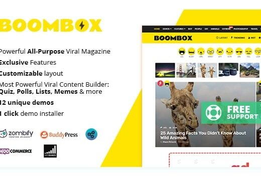 BoomBox-Nulled-Viral-Magazine-WordPress-Theme-Download
