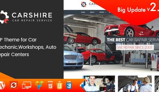 Car-Shire-Nulled-Auto-Mechanic&Repair-WordPress-Theme-Nulled-Download