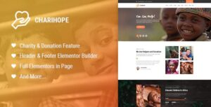 Charihope-Nulled-Charity-and-Donation-WordPress-Theme-Download