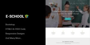 E-School-Professional-Learning-and-Courses-HTML5-Template