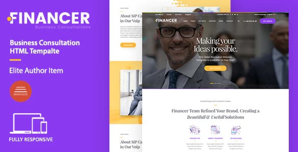 Financer-Business-Consultations-Template-Nulled-Download