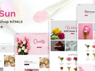 FloSun-Flower-Shop-HTML5-Template-Nulled-Download