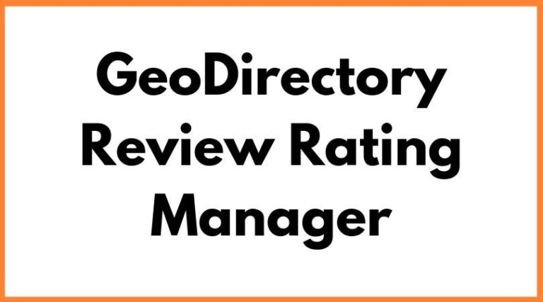 GeoDirectory-Review-Rating-Manager-Nulled-Download
