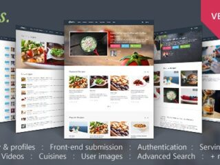 Gustos-Nulled-Community-Driven-Food-Recipes-with-Front-end-Submission-System-Download