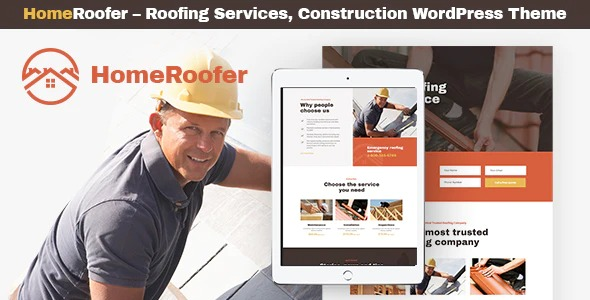 HomeRoofer-Roofing-Company-Services&Construction-WP-Theme-Nulled-Download