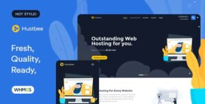 Hustbee-Hosting-HTML&WHMCS-Template-Nulled-Download