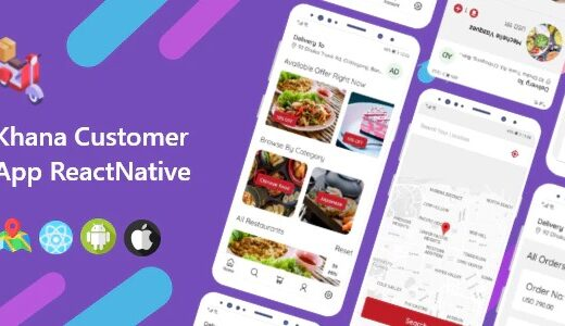 Khana-Multi-Restaurants-And-Food-Delivery-Customer-App-Nulled-Download