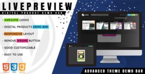 LivePreview-Nulled-Theme-Demo-Bar-WP-Nulled-Download