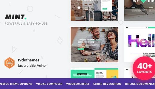 Mint-Creative-Multi-Purpose-WordPress-Theme-Nulled-Download