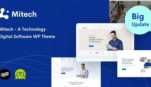 Mitech-Technology-IT-Solutions&Services-WP-Theme-Nulled-Download