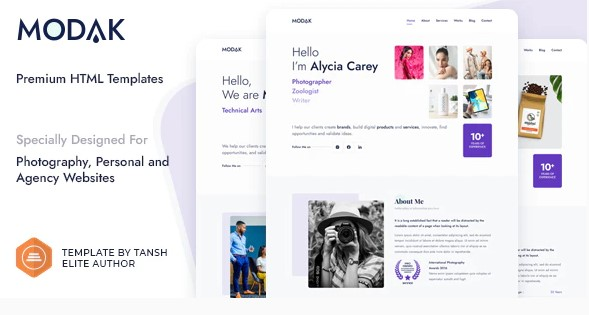 Modak-One-Page-HTML-Template-Nulled-Download