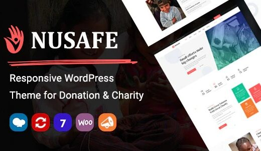Nusafe-Nulled-Responsive-WP-Donation&Charity-Nulled-Download