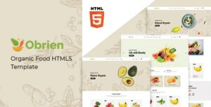 Obrien-Organic-Food-HTML5-Template-Nulled-Download
