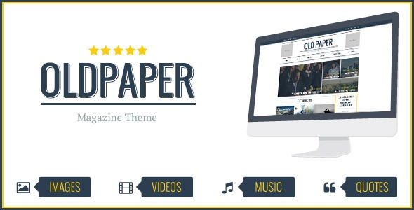 OldPaper-Ultimate-Magazine&-Blog-Theme-Nulled-Download
